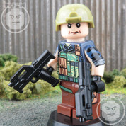 Delta Elite LEGO compatible Minifigure Soldier