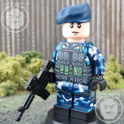 Navy Elite LEGO compatible Minifigure Soldier