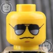 Police LEGO Minifigure Head
