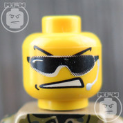 Special Forces 1 LEGO Minifigure Head