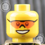 Special Forces 2 LEGO Minifigure Head