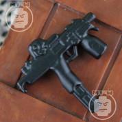 MP9 Matt Finish LEGO minifigure compatible SMG