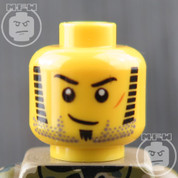Soldier 1 LEGO Minifigure Head