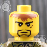 Soldier 3 LEGO Minifigure Head