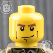 Soldier 5 LEGO Minifigure Head