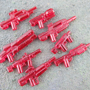 Red Halo LEGO compatible Weapons Pack