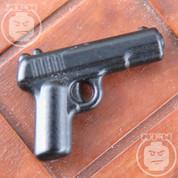Tokarev TT30  Matt Finish LEGO minifigure compatible Pistol