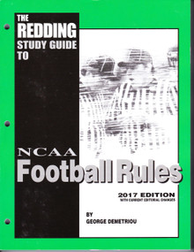 2017 Reddings Study Guide to Football - NCAA Edition