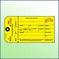 Inventory Control Tag - Yellow