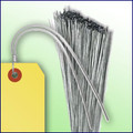 "12"" - 21 Gauge Galvanized Tag Wires (Extra Heavy Duty)"