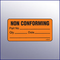 Non Conforming Mini Label 1-/14 x 2-1/2