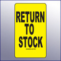Return to Stock Label