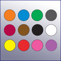 "Color Code Rotation Dots (1/2"" dia.)"