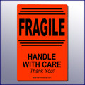 Fragile - Handle With Care Label 4x6