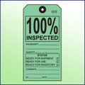 100% Inspected Tag - Size #8