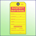 Suspect Material Tag - Size 8