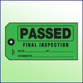 Passed Final Inspection Tag - Size #5
