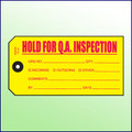 Hold for QA Inspection - Size #5 Tag