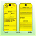 5S Yellow Tag -  Safety & Health