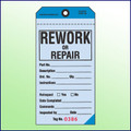 Rework or Repair Tag - 2 Part