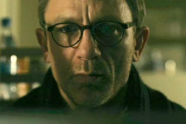 "Daniel Craig wearing MYKITA HELMUT Glasses in ""Girl with ..."