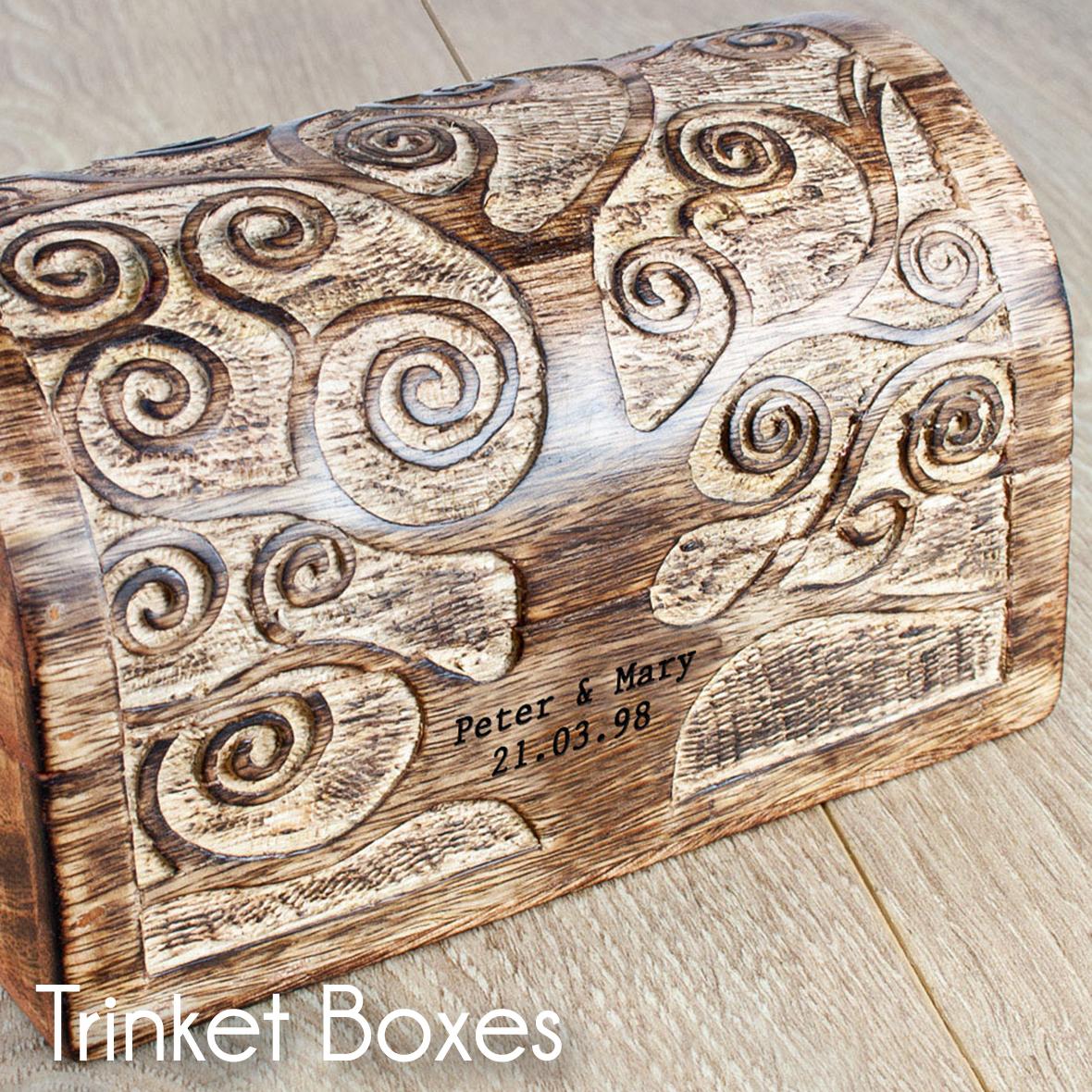 Trinket & Jewellery Boxes