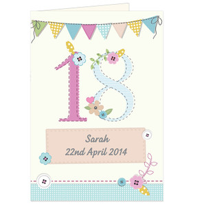 Personalised Birthday Craft Card From Something Personal