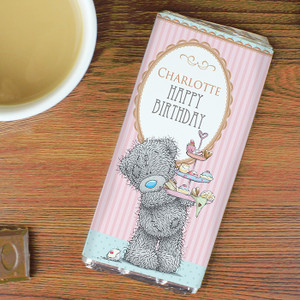 Personalised Me to You Cupcake Chocolate Bar For Her From Something Personal