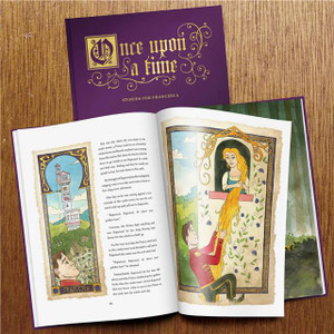 Personalised Once Upon A Time: A Timeless Collection Of Fairy Tales From Something Personal