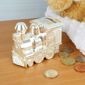 Personalised Train Moneybox From Something Personal