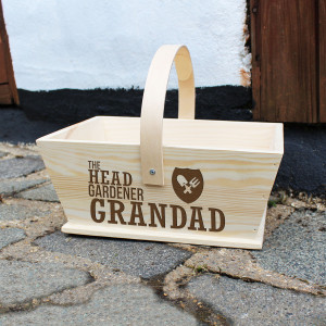 Personalised Head Gardener Trug From Something Personal