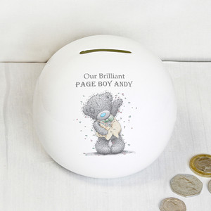 Personalised Me To You Male Wedding Money Box From Something Personal