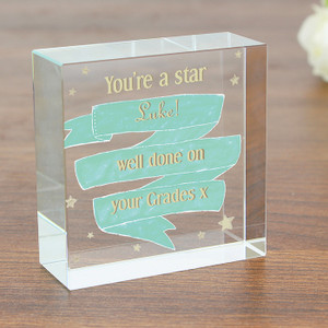 Personalised Shining Star Crystal Token From Something Personal