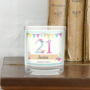 Personalised Birthday Craft Scented Jar Candle From Something Personal