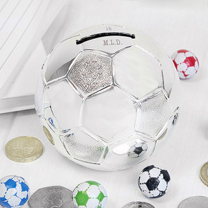 Personalised Football Money Box From Something Personal