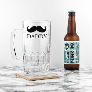 Personalised Moustache Tankard From Something Personal