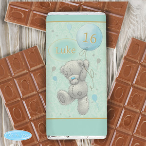 Personalised Me To You Balloon Chocolate Bar From Something Personal