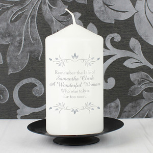 Personalised Sentiments Candle From Something Personal