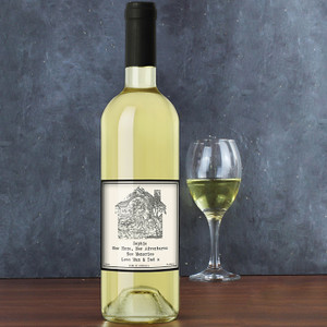 Personalised 1805 - 1874 Map Home White Wine From Something Personal