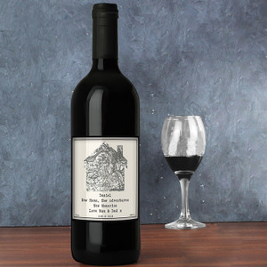 Personalised 1805 - 1874 Map Home Red Wine From Something Personal