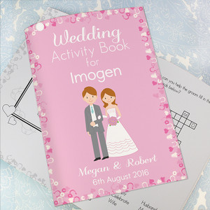 Personalised Girls Wedding Activity Book From Something Personal