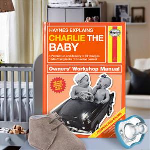 Personalised Haynes Explains Babies Book From Something Personal