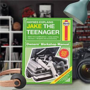 Personalised Haynes Explains Teenagers Book From Something Personal