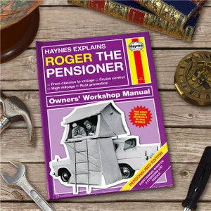 Personalised Haynes Explains Pensioners Book From Something Personal
