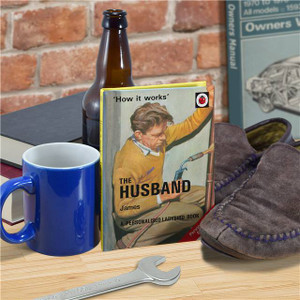 Personalised The Husband Ladybird Book From Something Personal