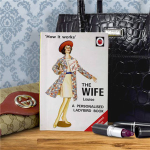 Personalised The Wife Ladybird Book From Something Personal
