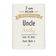 Personalised I Am Glad... Fridge Magnet From Something Personal