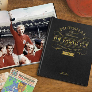 Personalised Football World Cup 1966 Pictorial Edition From Something Personal