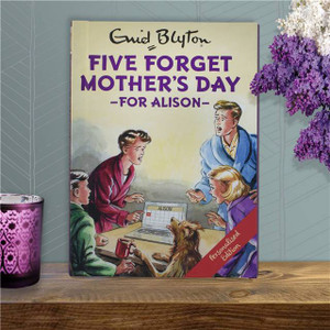 Personalised Five Forget Mother's Day Book From Something Personal