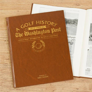 Personalised American Golf Newspaper Book From Something Personal